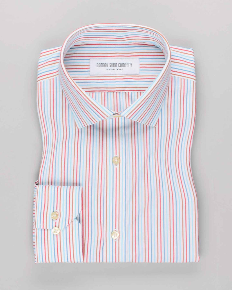 Multi-Colour Stripes Shirt