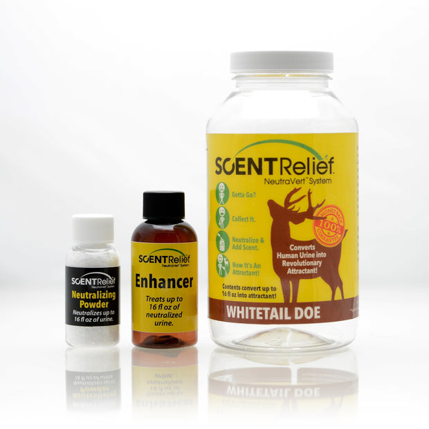 ScentRelief® Estrous, Buck, Doe and Tarsal Attractant Bundle
