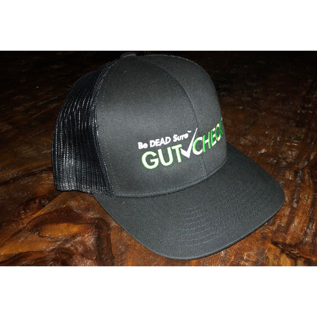 Gutcheck® Indicators Black Snap Fit Cap