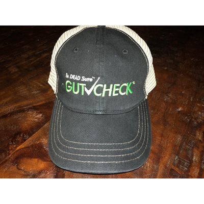 Gutcheck® Indicators Black and Green Snap Fit Cap