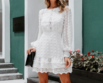 Load image into Gallery viewer, OLIVIA LACE DRESS