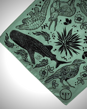 Load image into Gallery viewer, Limited Edition Key Conservation X Carly Ealey Bandana