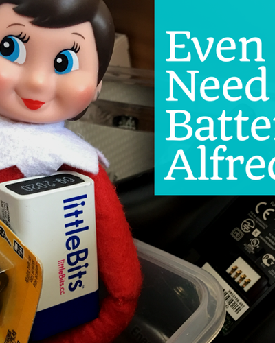 Who knew they ran on elfkaline batteries?