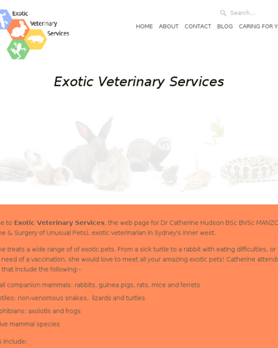 Exotic Veterinary Services