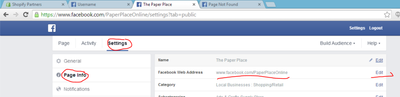 How to create a sexier address for your facebook page