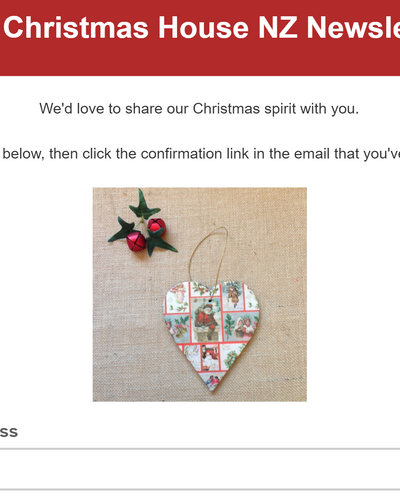 You send lots of emails every day - use it to encourage people to sign up for your mailing list