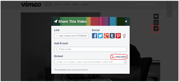 How to embed video – Youtube or Vimeo