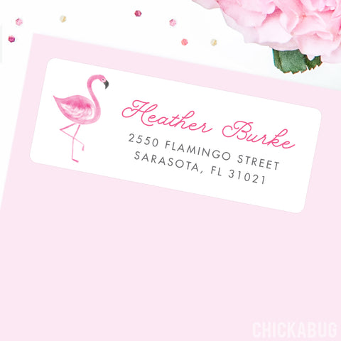 Address labels from Chickabug