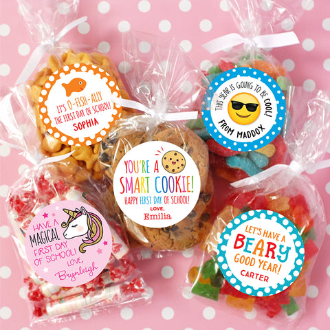 Back to school labels from Chickabug