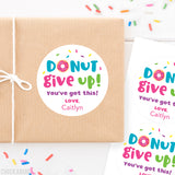 """Donut Give Up"" Stickers"