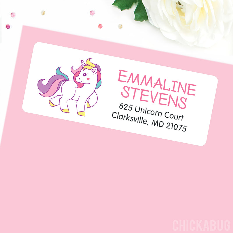 Unicorn Address Labels