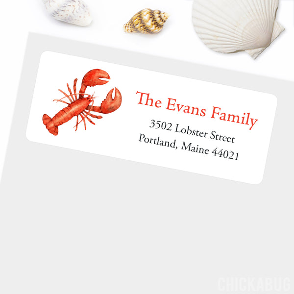 Lobster Address Labels