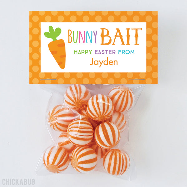 """Bunny Bait"" Easter Paper Tags and Bags"