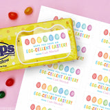 """Egg-cellent Easter"" Gift Labels"