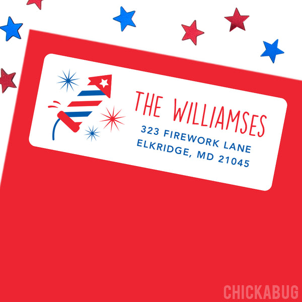 Fireworks Address Labels