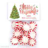 Christmas Tree Paper Tags and Bags