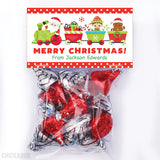 Christmas Train Paper Tags and Bags
