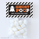 """Ghost Poop"" Halloween Paper Tags and Bags"