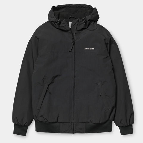Carhartt WIP Hooded Sail Jacket black