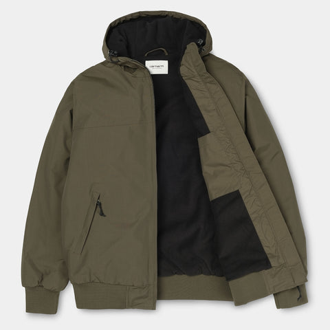 Carhartt WIP Hooded Sail Jacket cypress