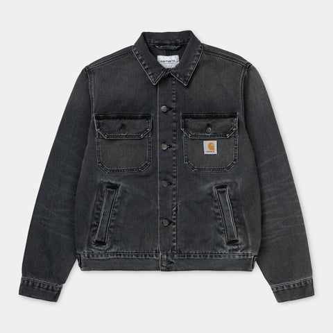 Carhartt WIP Stetson Jacket black worn wash