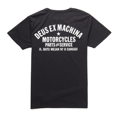 Deus Ex Machina Canggu Adress T-Shirt black
