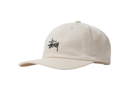 Stüssy Stock Low Pro Cap natural