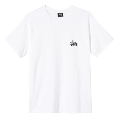 Stüssy Basic T-shirt white