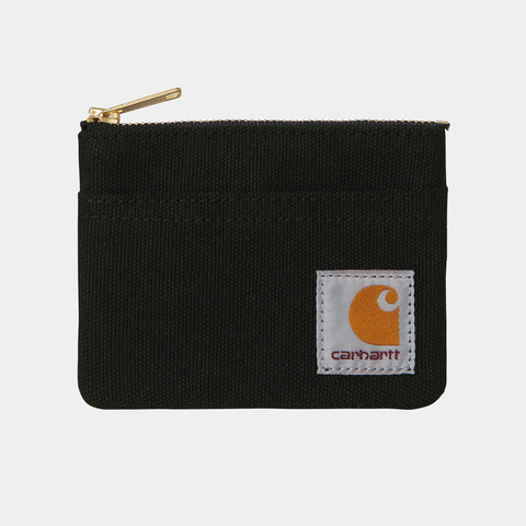 Carhartt WIP Canvas Wallet black