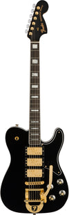 Fender Parallel Universe Volume II Troublemaker Tele Deluxe Bigsby Black w/Hard Case