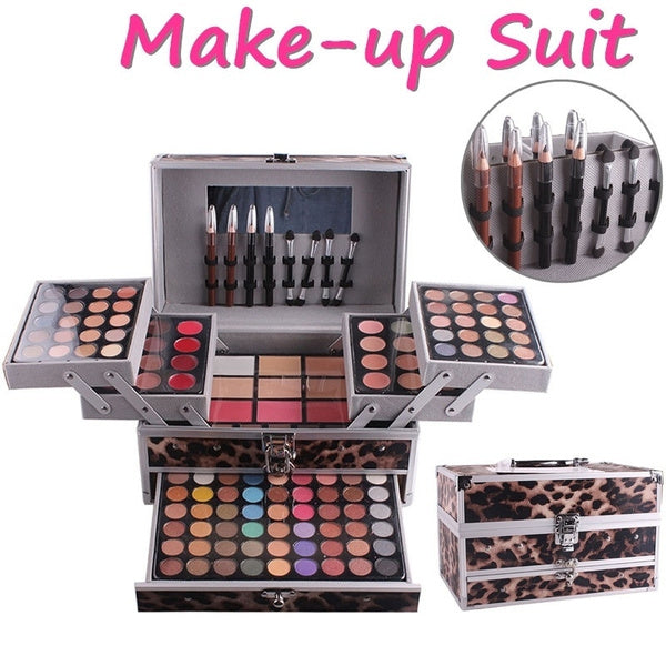 MISS ROSE Make Up Matte 94 Color Eye Shadow 12 Color Concealer 12 Color Lipstick Paste Color Eyeshadow Pallete Makeup Kit Cosmetics Set