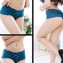 Load image into Gallery viewer, Littledesire Lace Seamless Low Waist Panty