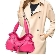 Load image into Gallery viewer, New Stylish PU Leather Pink Color Woman Handbag