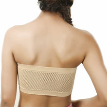Load image into Gallery viewer, Non-Wired Seamless Non Padded Strapless Tube Top Bra