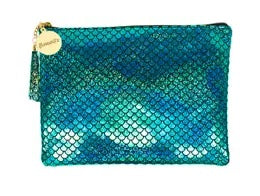 Large Mermaid Makeup Pouch w/ Tassel
