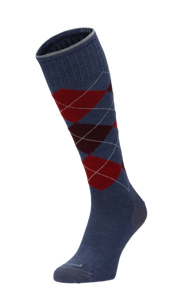Argyle Men Compression Socks Class 1 Denim