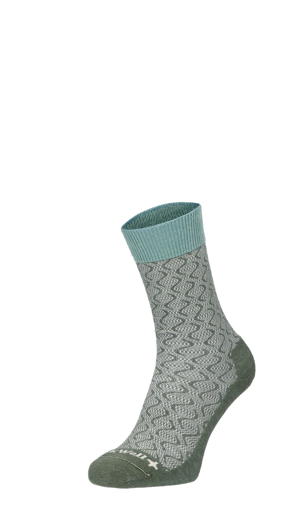Softie Women Diabetic Socks Eucalyptus