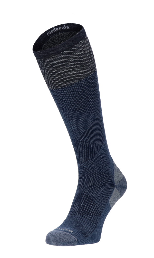Diamond Dandy Men Compression Socks Class 1 Denim
