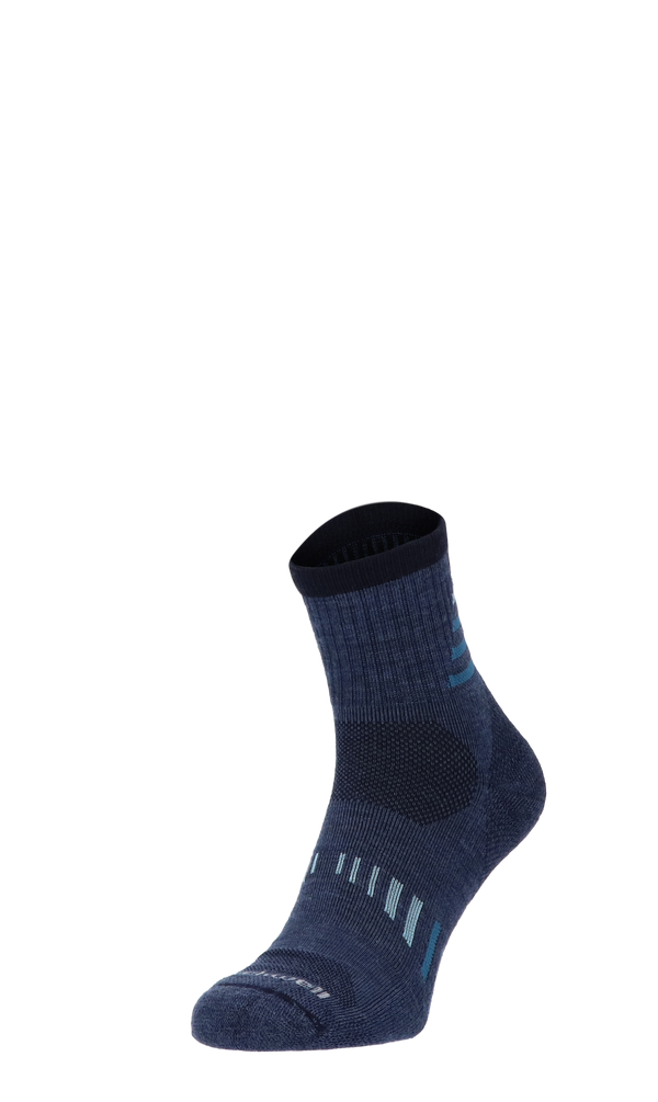 Ascend Quarter II Men Hiking Socks Class 1 Denim