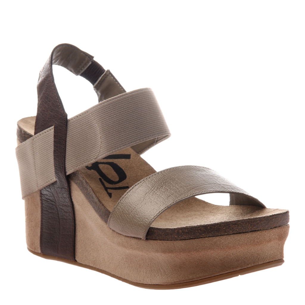 OTBT - BUSHNELL in COFFEEBEAN Wedge Sandals