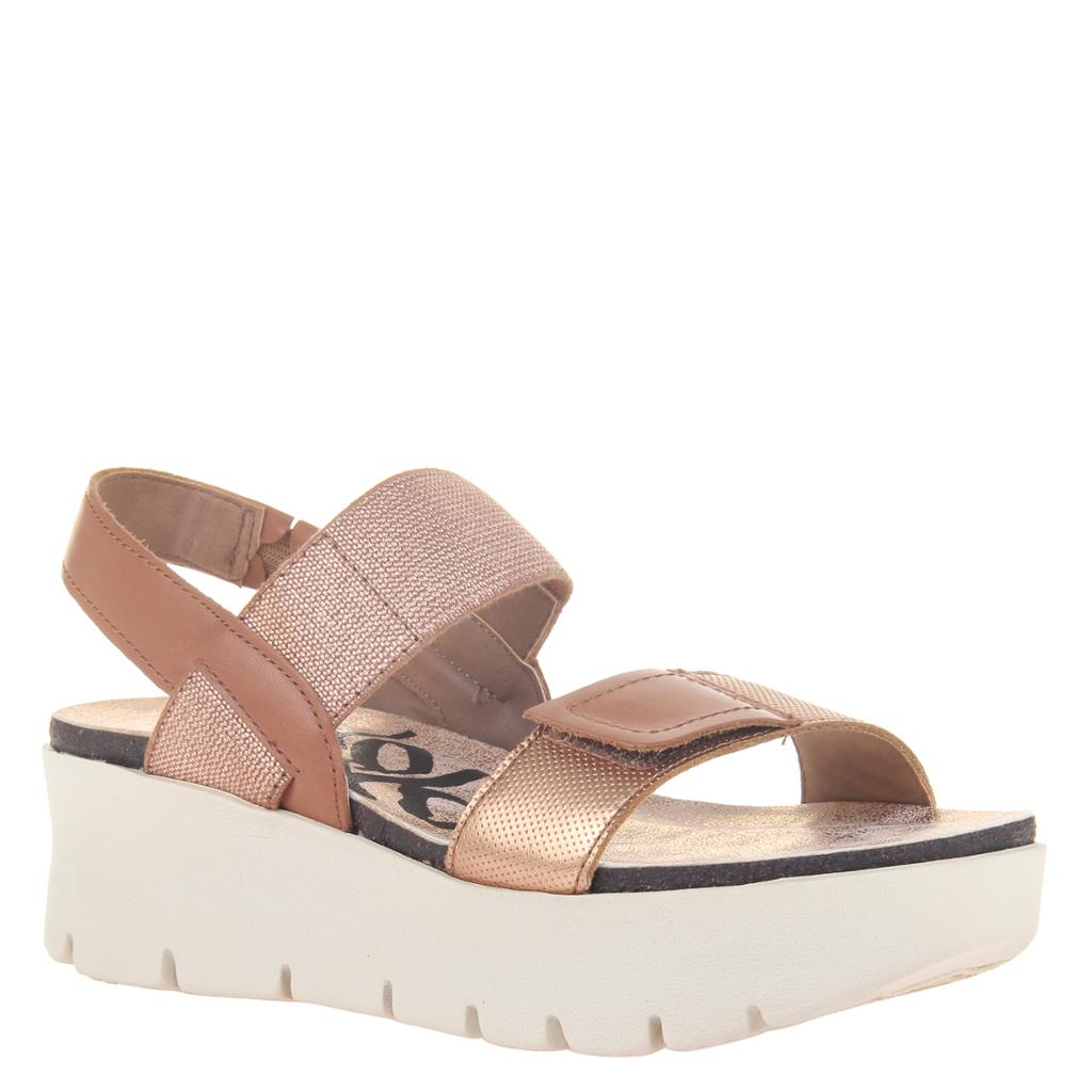 OTBT - NOVA in COPPER Wedge Sandals