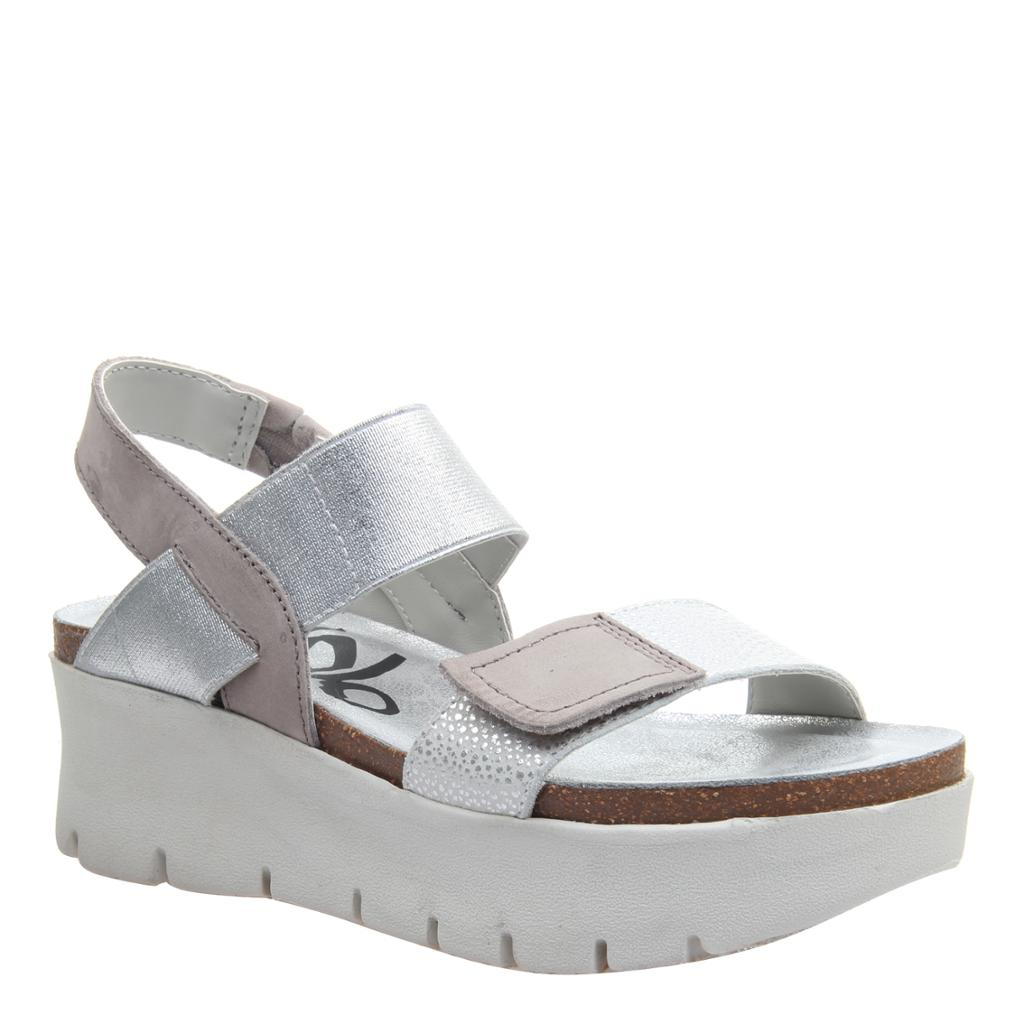 OTBT - NOVA in NEW SILVER Wedge Sandals