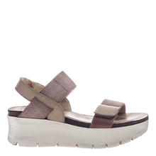 Load image into Gallery viewer, OTBT - NOVA in SILVER Wedge Sandals