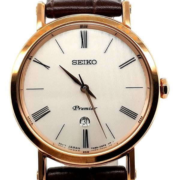 Seiko Premier Ladies Rose Dress Watch