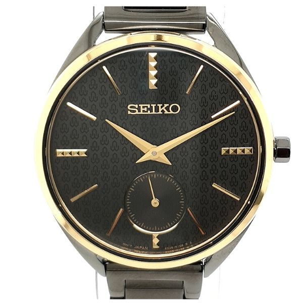 Seiko 50th Anniversary Limited Edition Ladies Black Dress Watch