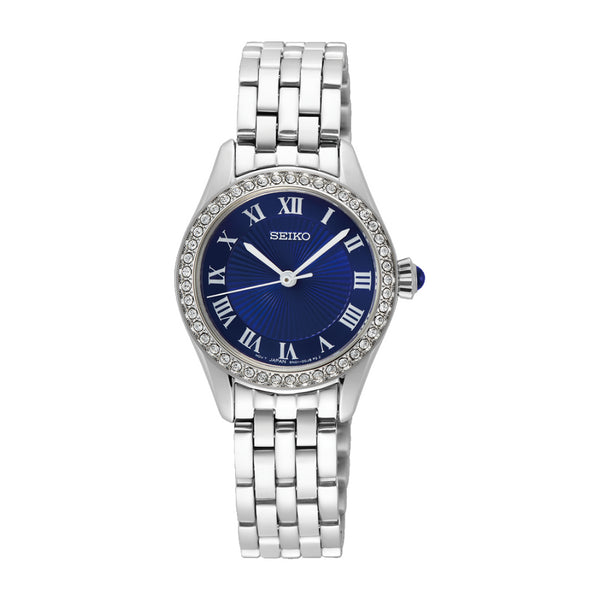 Seiko Stainless Steel Ladies Dress Watch