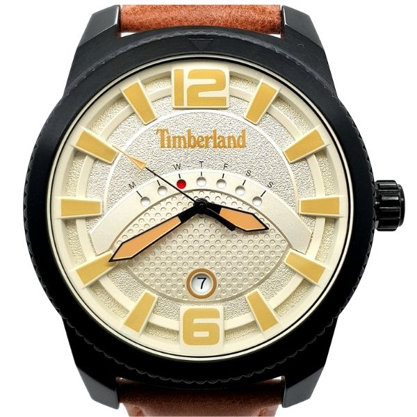 Timberland Mens Black Ip Dress Watch