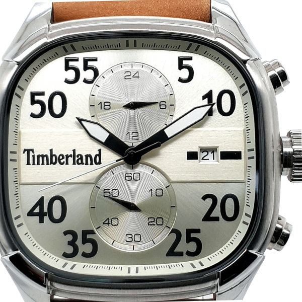 Timberland Square Stainless Steel Mens Dress Watch