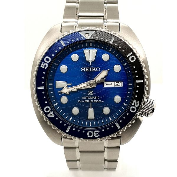 Seiko Prospex Stainless Steel Mens Automatic Divers Watch
