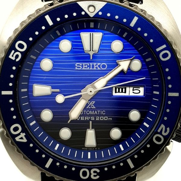 Seiko Prospex Automatic Mens Stainless Steel Divers Watch